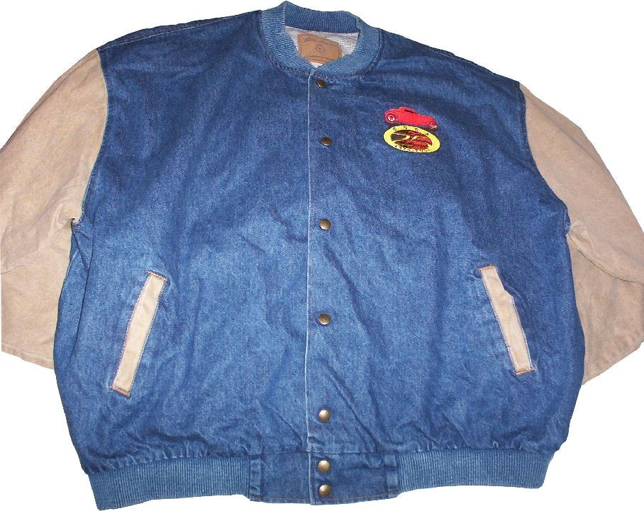 Official GSRA Embroidered Letterman Jacket – X Large