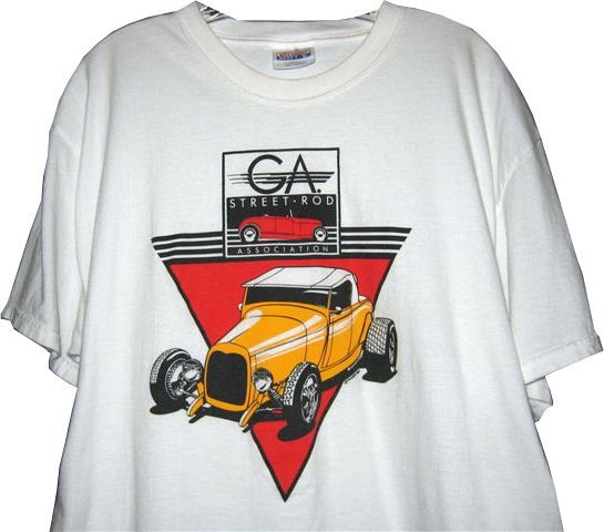 OFFICIAL GSRA Front Logo T Shirt – Large