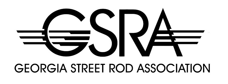 Georgia Street Road Association logo in black and white
