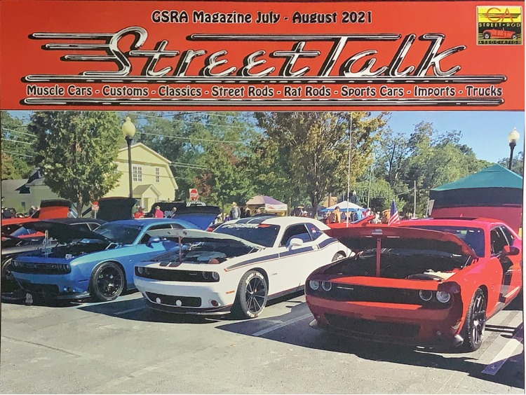 Official magazine of GSRA is StreetTalk