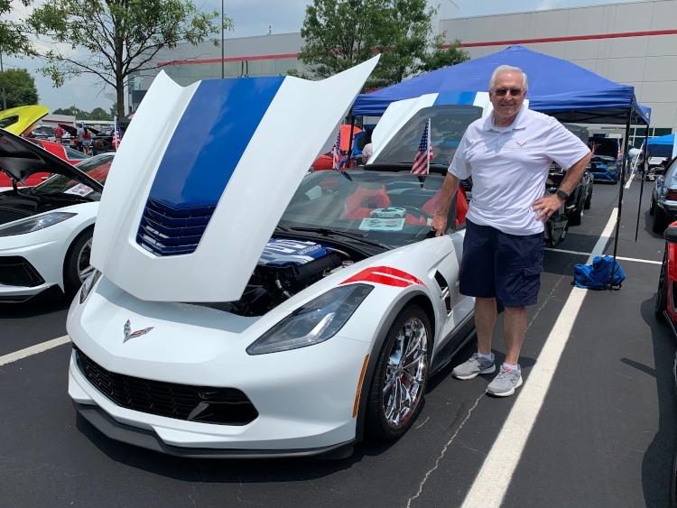 Seventh-generation Grand Sport Corvette coupe